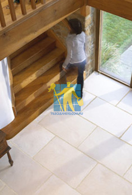 limestone tiles indoor tuscany Canberra cleaning