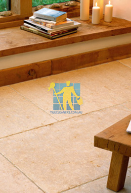 limestone tiles tumbled jerusalem gold Canberra cleaning